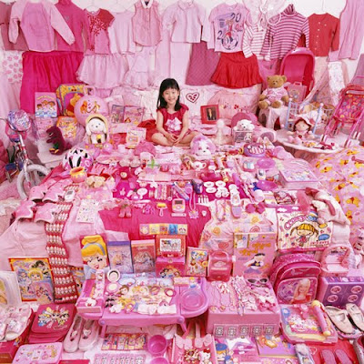 Cute Girl Pink Room - Kids Room Design 7