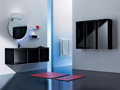 Modern Bathroom Glass Decoration