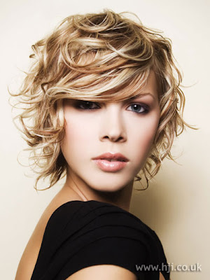 Blonde Short Messy Hairstyles