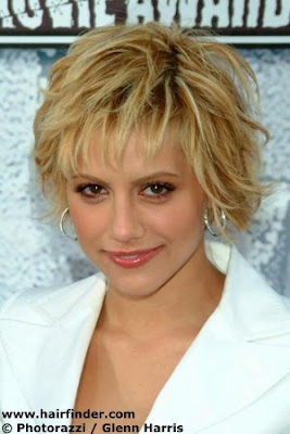Celebrity Short Messy Hairstyles