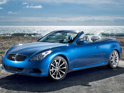 Awesome Infiniti G37S Convertible Sports Car Coupe