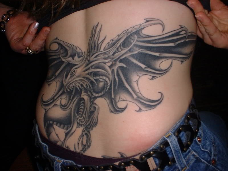 Western Dragon Tattoos