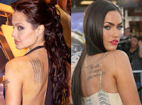 hollywood Celebrity Tattoos