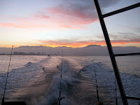 Sunrise From Fishing Boat: Puerto Vallarta
