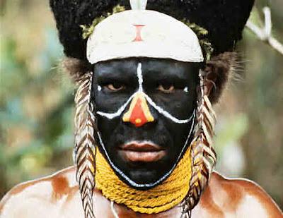 uglyblackjohn: Black Face / White Face