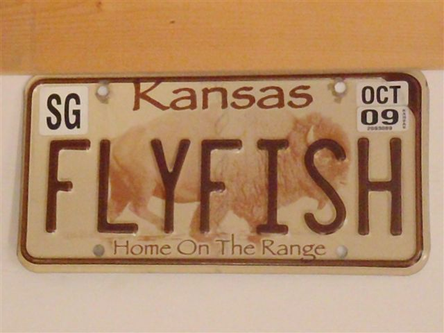 Old ausable river ramblings fly fishing license plates for When does fishing license expire