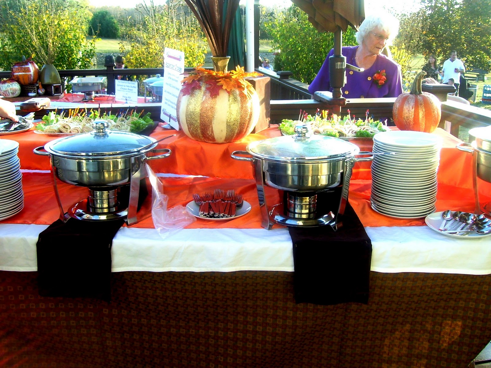 Catering For A Fall Themed Wedding!