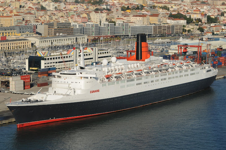 QE2 final call in Lisbon 2008-11-13
