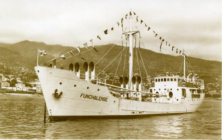 FUNCHALENSE de 1953 na primeira chegada ao Funchal