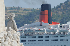 QE2 in Lisbon 22 July 2007