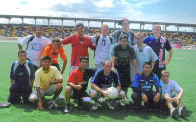 Futbol in Estadio Aliardo Soria