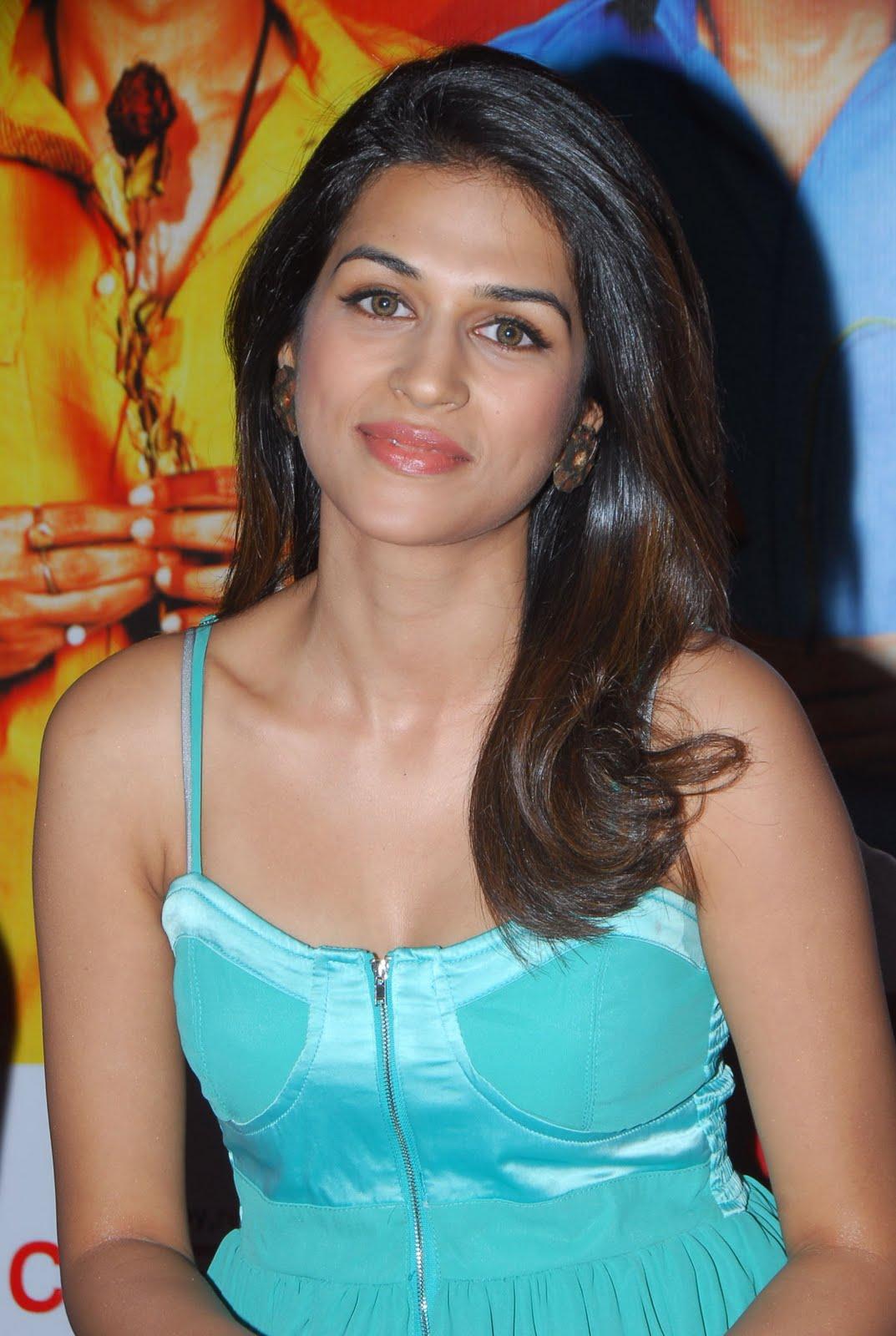 , Shraddha Das in Sexy Dress at Cinemax