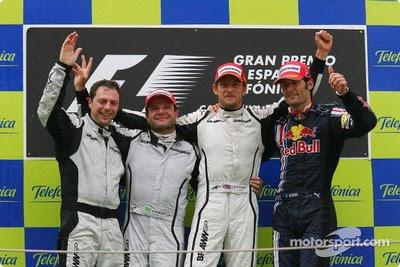 Podium GP España 2009
