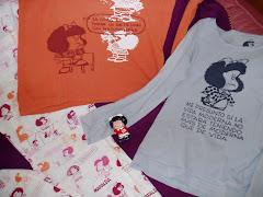 Mafalda por la orilla
