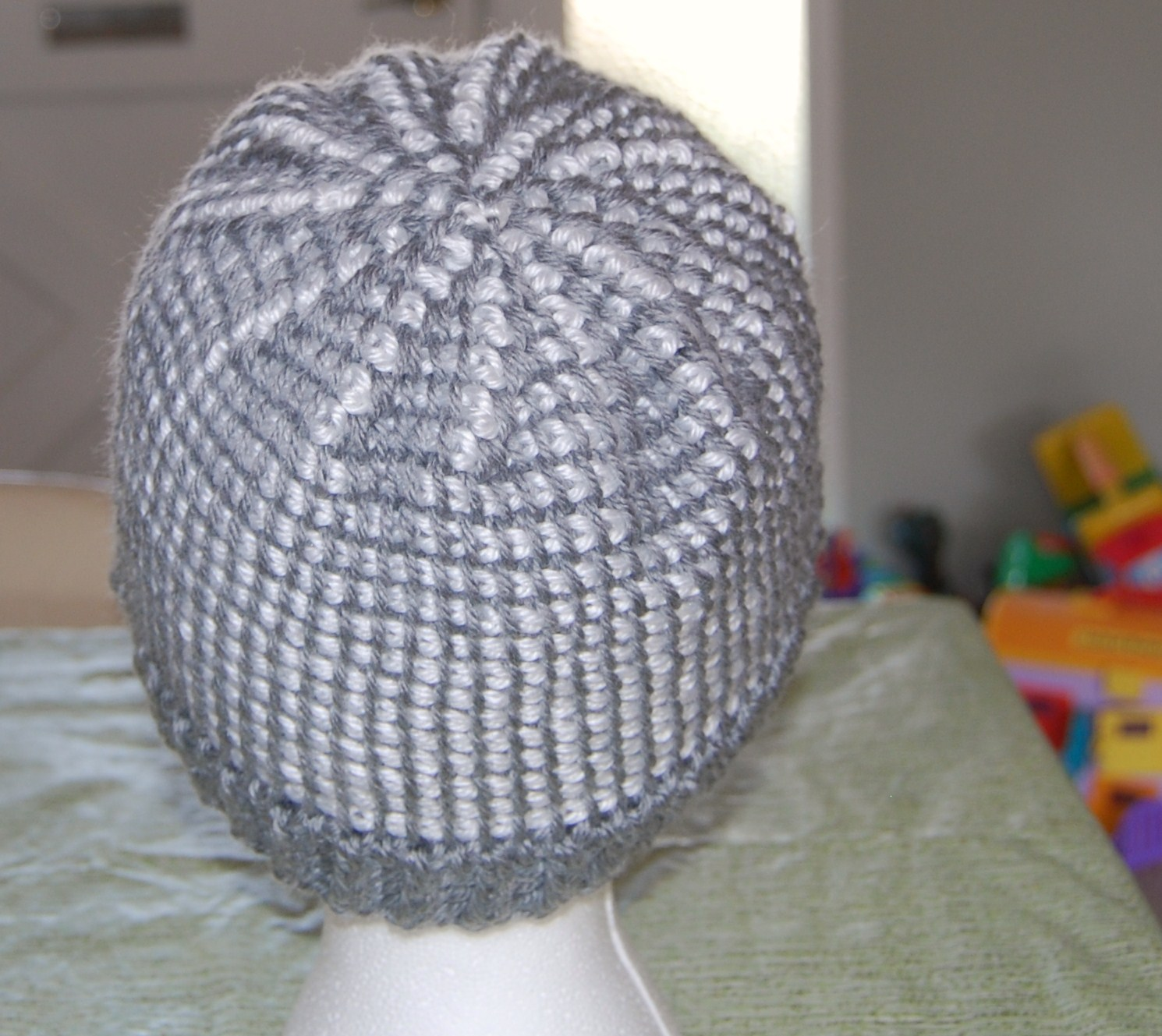 Crochet Jasmine Stitch Hat : The Laughing Willow: Ribbed Brim Tunisian Hat