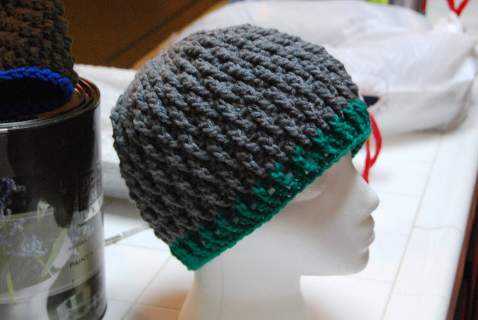 Free Patterns Crochet Winter Hats : The Laughing Willow: Deeply Textured Hat free pattern, and ...