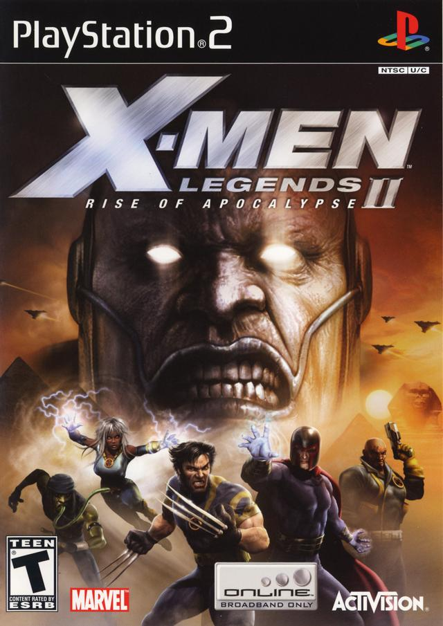X-Men Legends II + Gran Turismo 4 [PS2] | DESCARGA2.ME