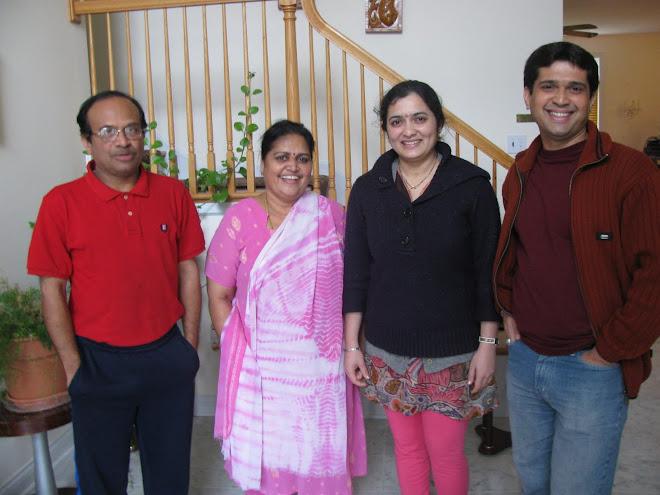 Raghu Pandurangi & Sandhya Pandurangi