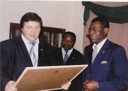 with my president, DON TEODORO OBIANG NGUEMA MBASOGO