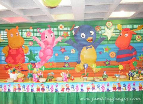 Decoraciones infantiles mis peques decoracion de fiestas for Decoracion cumples infantiles