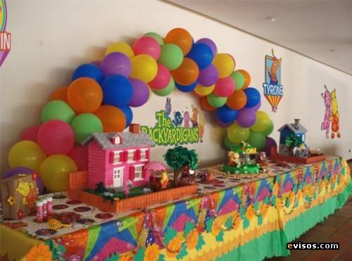 Decoraciones de fiestas infantiles imagui for Decoracion fiesta infantil nina