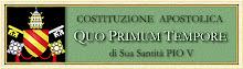 Costituzione Apostolica