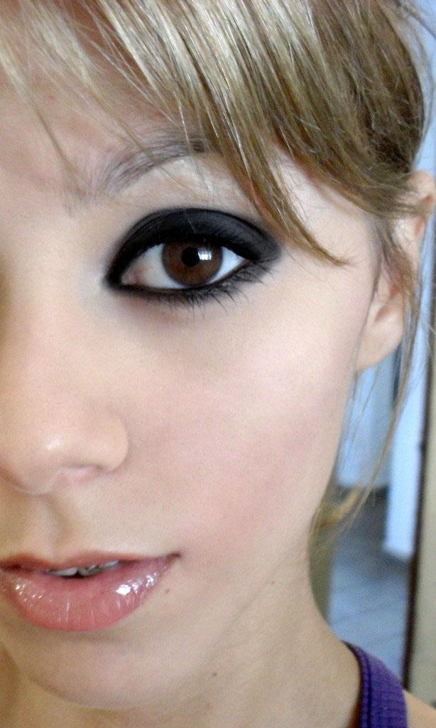 maquiagem balada