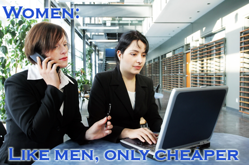 Women are cheap