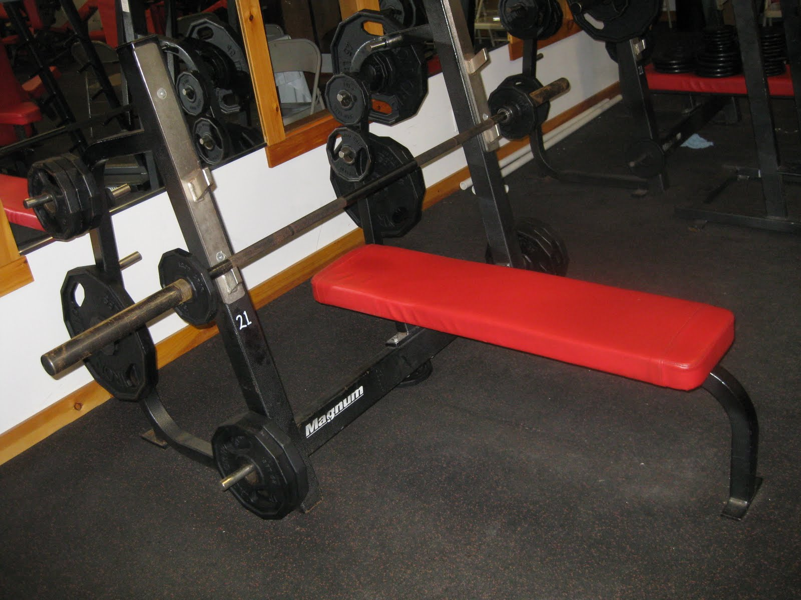 Gym Equipment For Sale Magnum Strength M78 F Bench Press Wstorage 30628