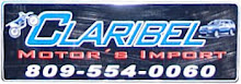 Homepage Claribel Motors