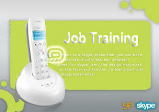 Skype phone job training