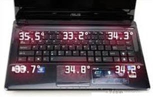 inspiron 9300, thermometer