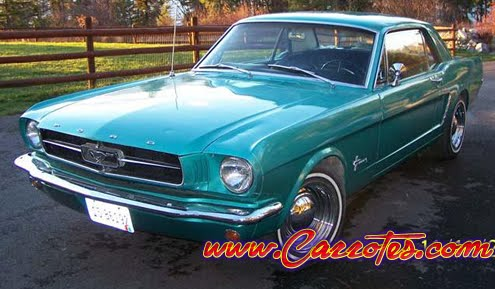mustang clasico deportivo 1964