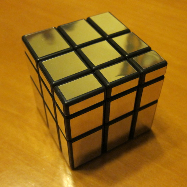 Mirror rubik cube it just looks gorgeous for Mirror rubik s cube