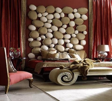 Colores para decorar con que colores combina una pared - Cortinas marron chocolate ...