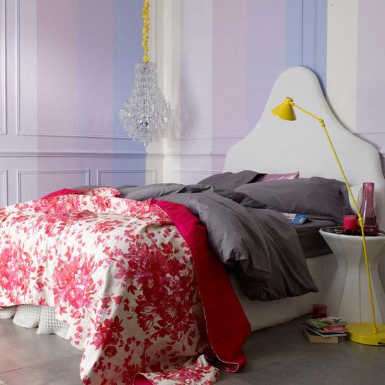 Colores para Decorar: Con que colores combina pared violeta/lila ...