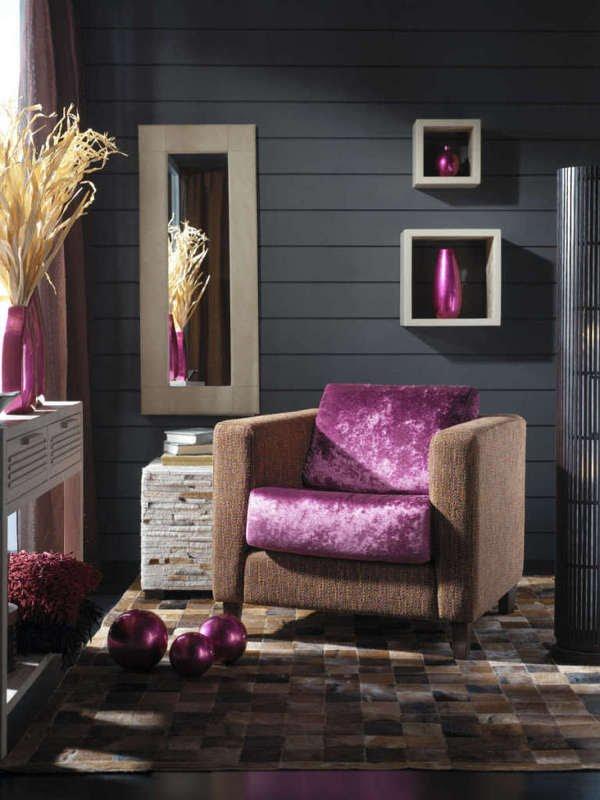 Colores para decorar con que colores combina una pared - Colores grises para salones ...