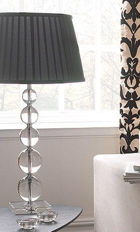 Colores para decorar lamparas de mesa de vidrio una - Lamparas de pie con mesita ...