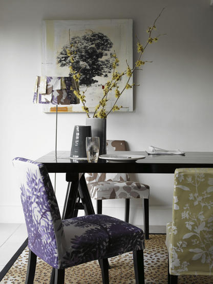 Colores para decorar sillas iguales de diferente color for Sillas comedor amarillas