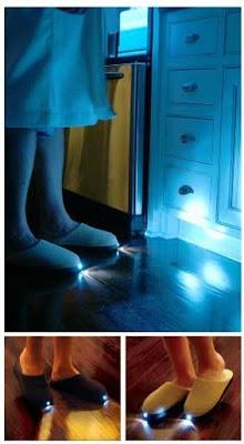 Chanclas con luz
