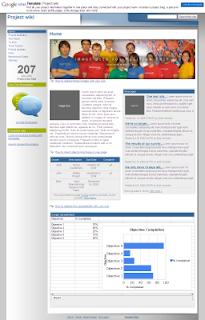 Google sites - личный викиблокнот