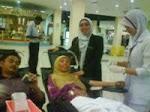 Derma Darah sempena hari guru 2009