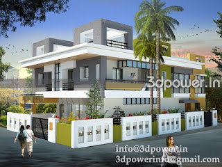 quot 3d rendering exterior of bungalow quot quot 3d rendering of small bungalow quot