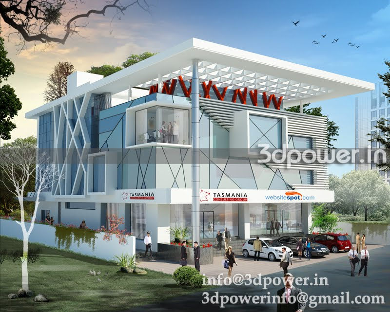 www.3dpower.in_architectural rendering India