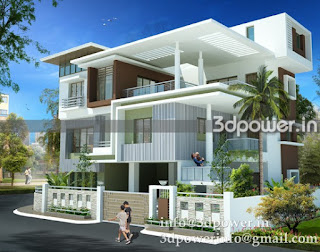 front elevation of bungalow.""