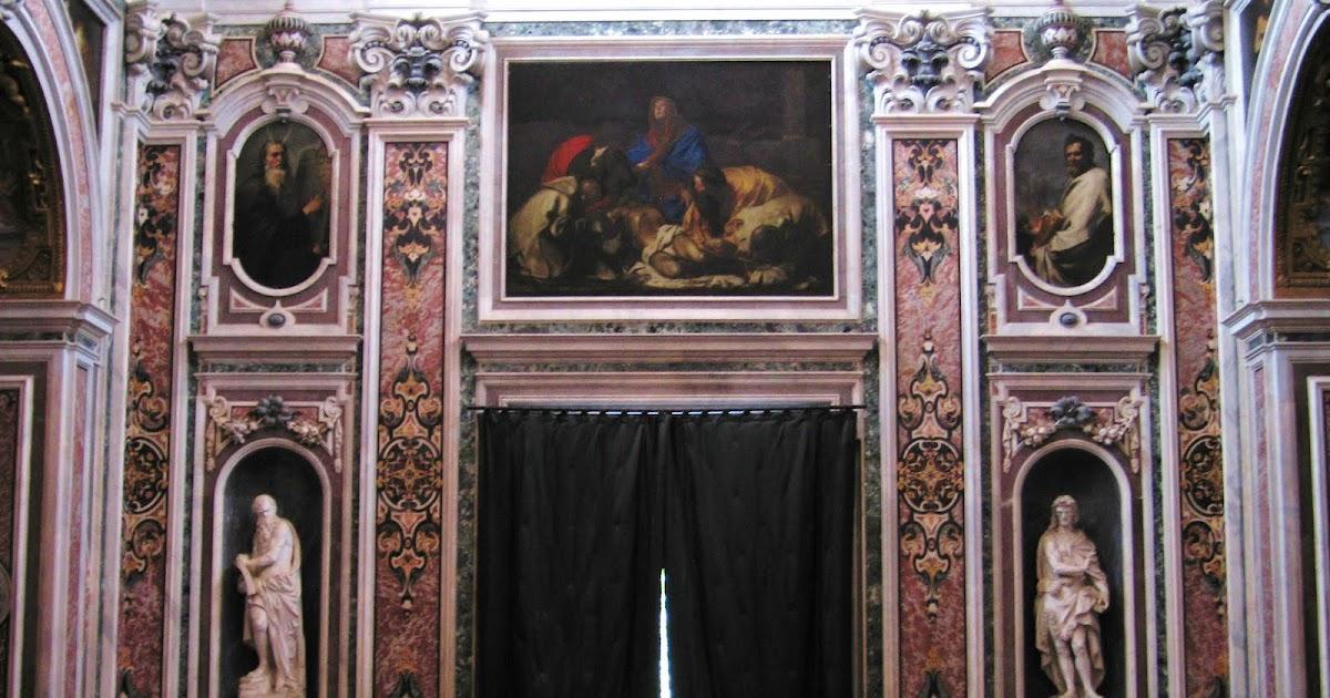 Een passie voor napels een culturele reisgids de twee pi ta 39 s in certosa di san martino napels - Kleur schilderij ingang ...