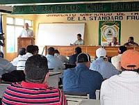 Congreso del Sutrafco en La Ceiba