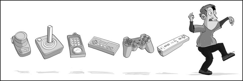 joysticks evolucao
