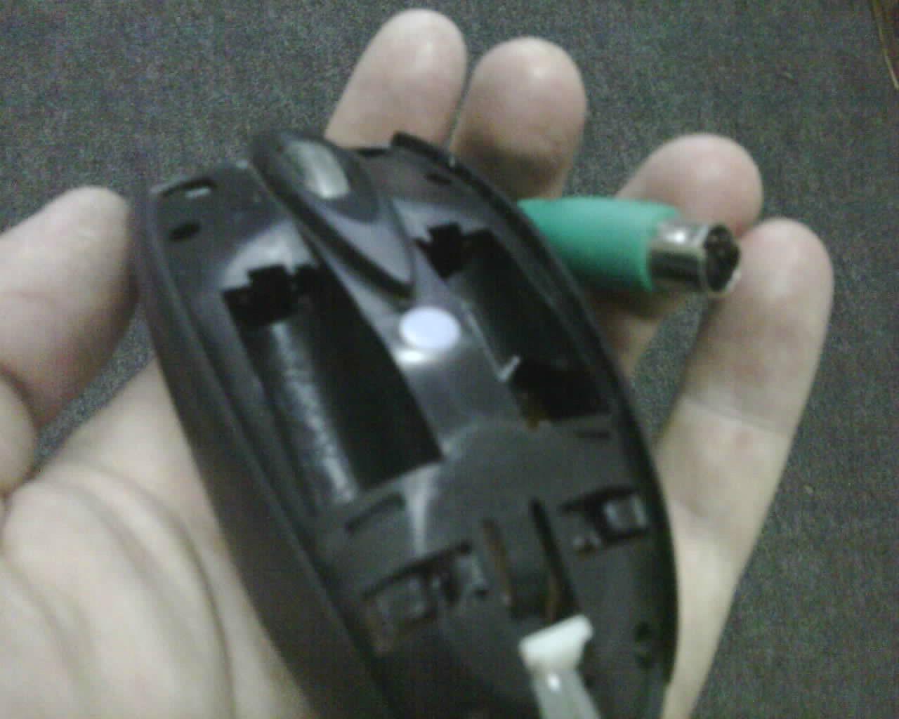 mouse pilhas fake