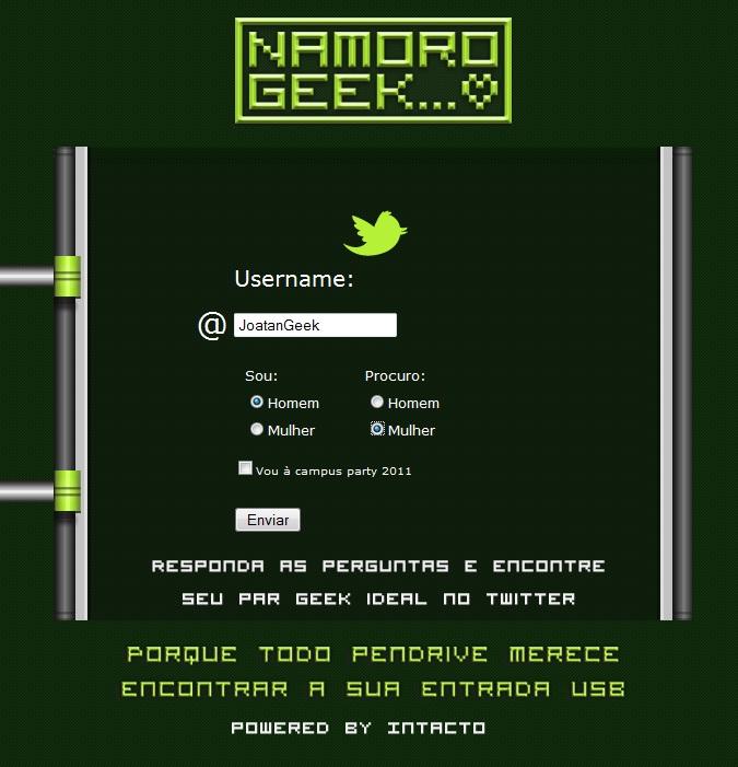 namoro geek
